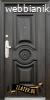 Метална входна врата модел 539 50% чист монтаж