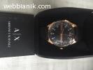 Armani Exchange Men's Rose Gold-Tone Watch