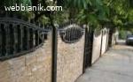 Бетонови огради – конструкции , състоящи се от бетонни релеф