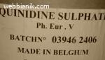 Хинидин сулфат /Quinidine sulphate/ чист 99 % на прах.