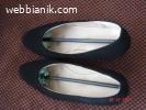 Черни обувки от набук