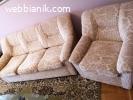 Продавам Разтегателен диван с фотьойл