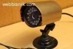 Камера за видеонаблюдение дневен и нощен режим цветна