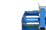 Машина за лепене на етикети върху цилиндрични съдове STS808