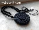 Медальон от обсидиан