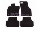 Мокетни стелки PETEX черни Style - комплект предни и задни (