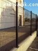 Ограда от метални системи – пана и колове