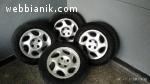 Оригинални джанти от Пежо - 15 -ки , 4 х 108 с гуми