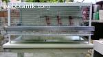 Продавам алуминиеви клетки за кокошки носачки