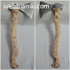 Продавам арт брадва - викинг - ръчна изработка