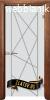 Стъклена интериорна врата Sand G 13-5 с каса Златен дъб