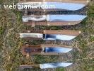 - Заточване на всякакъв тип ножове - кухненски, ловджийски,